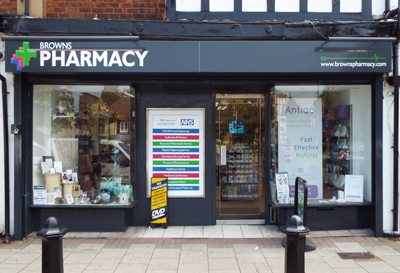 Image of Browns Pharmacy - Solihull