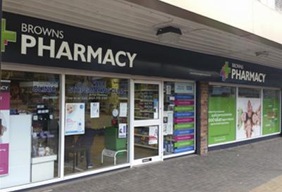 Image of Browns Pharmacy - Kingshurst