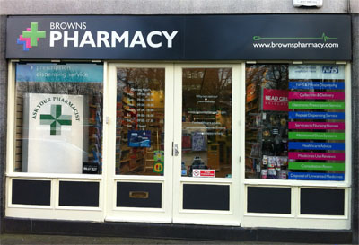 Image of Browns Pharmacy - The Green