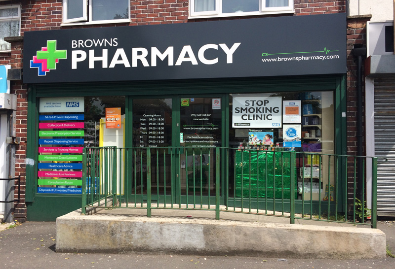 Image of Browns Pharmacy - Yardley Wood