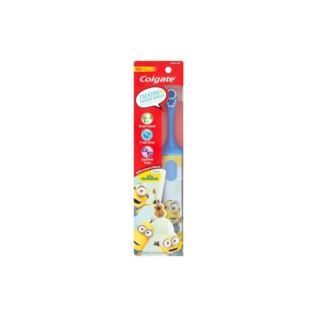 Colgate Kids 3+ Soft Minion Electric Toothbrush