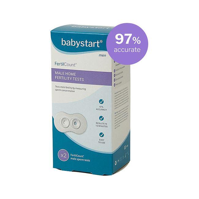 Babystart Fertilcount Male Home Fertility Tests 2