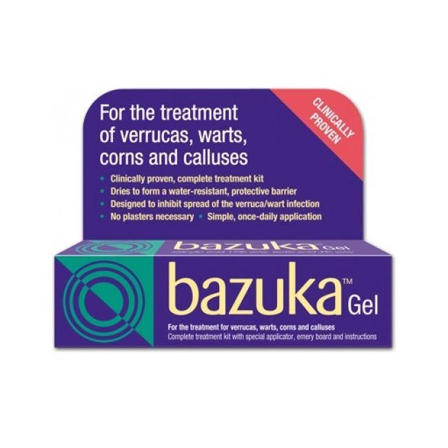 Bazuka (salicylic acid, lactic acid) 26% w/w Gel 5g