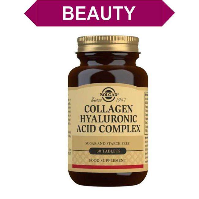 Solgar Collagen Hyaluronic Acid Complex Tablets 30