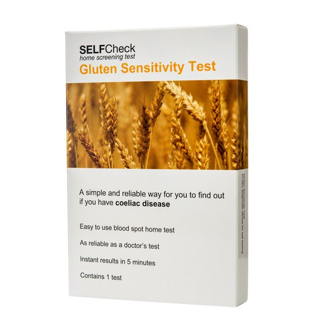 Self-Test Gluten Sensitivity for Coeliac Disease