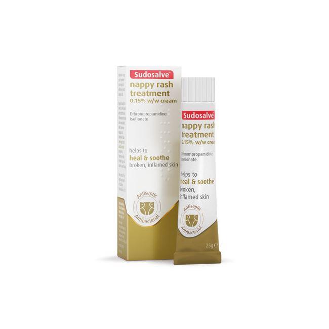 Sudocrem Sudosalve Nappy Rash Treatment Cream 25mg