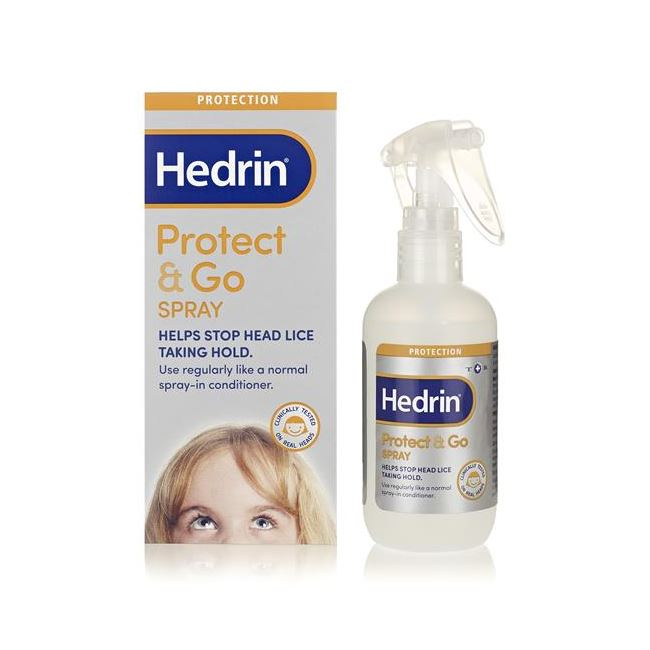 Hedrin Protect and Go Conditioning Spray Orange and Mango
