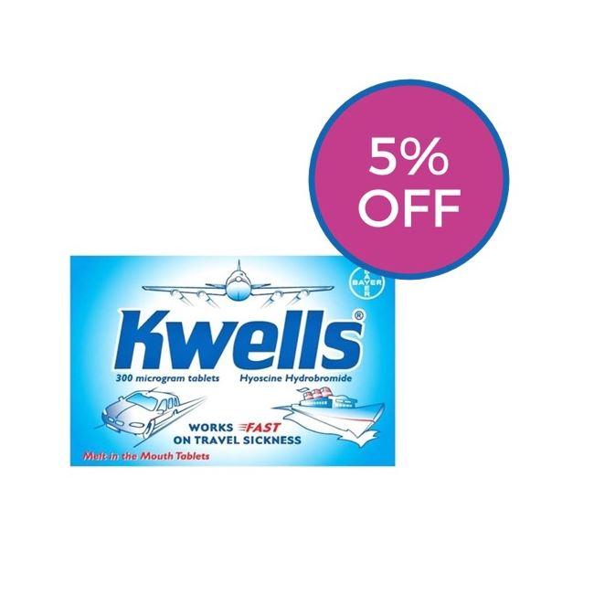 Kwells 300 microgram Tablets 12