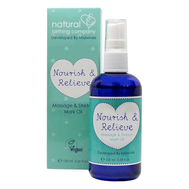 Nourish & Relieve Massage and Stretch Mark Oil 100ml