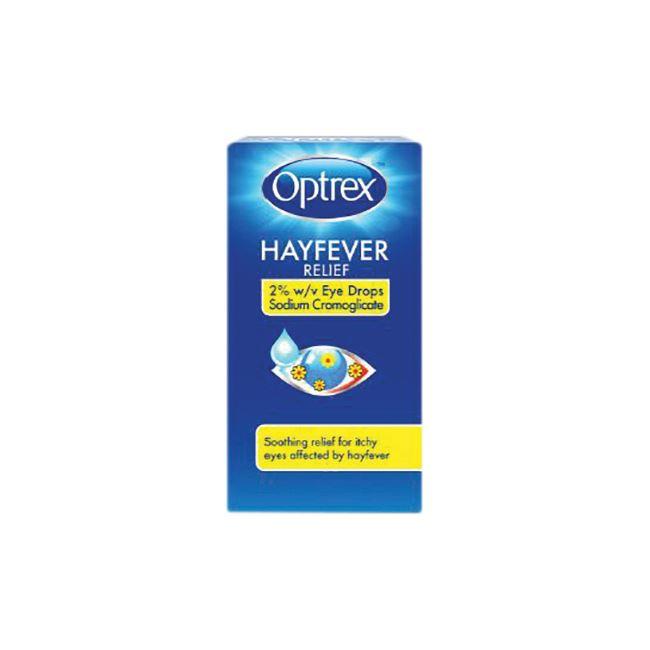 Optrex Hayfever Relief Eye Drops 10ml