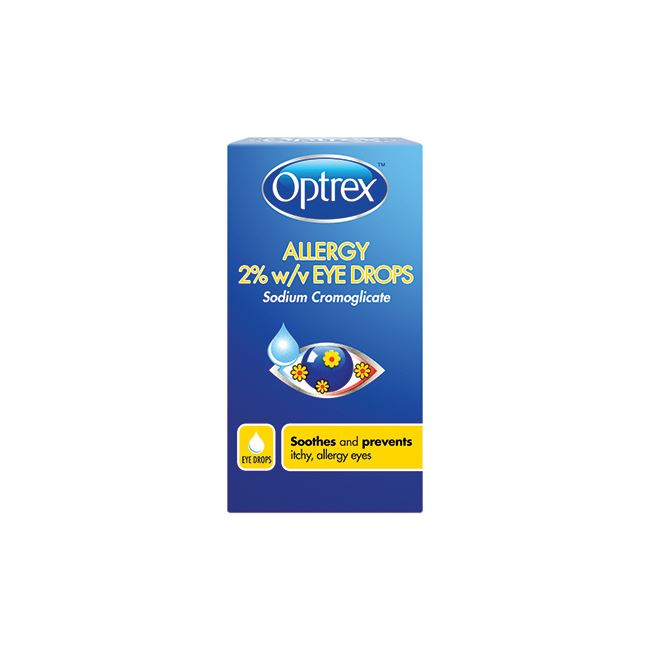 Optrex Allergy 2% Eye Drops 10ml