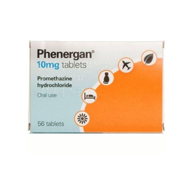 Phenergan 10mg Tablets 56