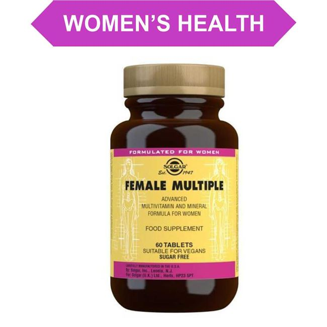 Solgar Womens Daily Wellbeing Tablets 60