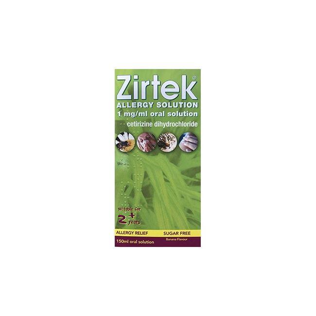 Zirtek Allergy Solution