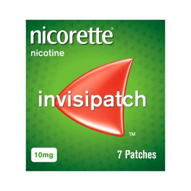 Nicorette Invsipatch 10mg Pack Of 7 Patches