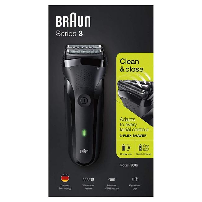 Braun Series 3 300S Waterproof Shaver