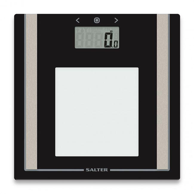 Salter Body Analyser Digital Large Glass Display Home Scales 9112 BK3R