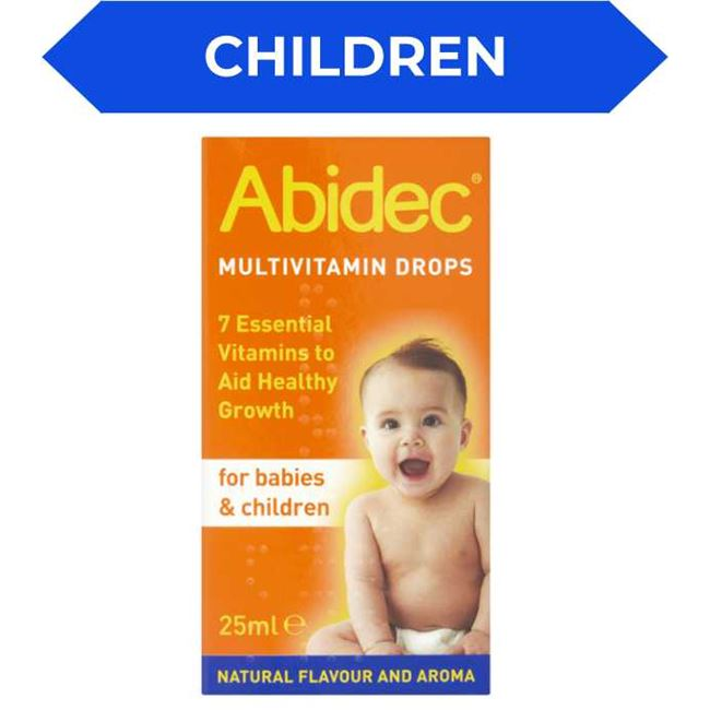 Abidec Multi Vitamin Drops for Babies & Children 25ml