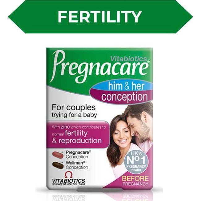 Pregnacare Him & Her Conception