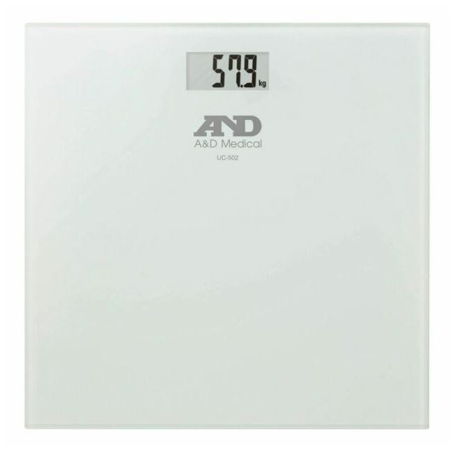 A&D UC502 Precision Health Scale 180kg Glass Plate
