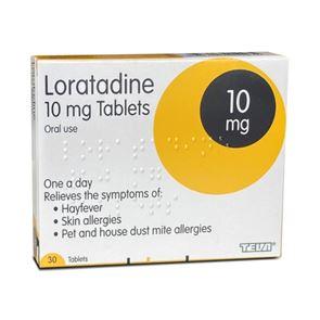 Loratadine 10mg Tablets