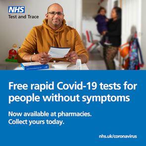 Free COVID Rapid Home Testing Kit