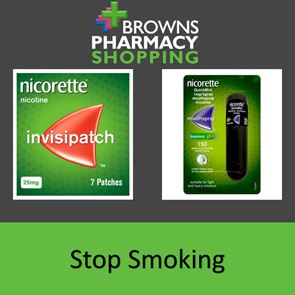 Browns Pharmacy Stop Smoking Package