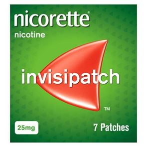 Nicorette Invisipatch 25mg Pack Of 7 Patches