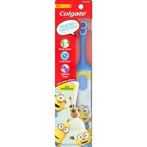Colgate Kids 3+ Soft Minion Electric Toothbrush