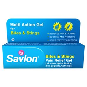 Savlon bite and stings (Lidocaine Hydrochloride, Zinc Sulphate and Cetrimide) gel 20g