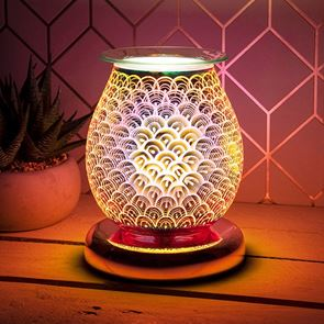 Aromatherapy 3D Rose Gold Bulb Lamp