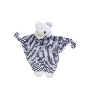 Cute Blue Teddy Comforter by Les Bebes D'Elysea