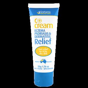 Grahams C + Cream for eczema, psoriasis & dermatitis relief