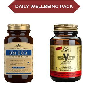 Solgar Daily Wellbeing Vitamin pack
