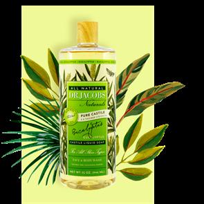Dr Jacobs Eucalyptus Castile Liquid Soap for Face, Body Wash and Shampoo 473ml