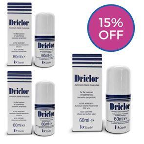Driclor Solution Triple Pack (180ml)