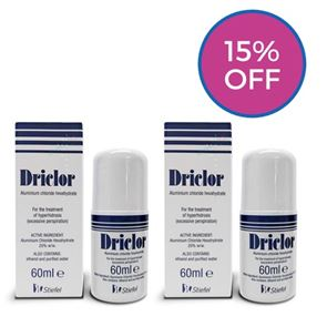 Driclor Solution Twin Pack (120ml)