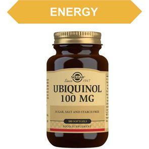 Solgar Ubiquinol 100 mg Soft gels 50