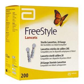 Freestyle Lancets 28G 200