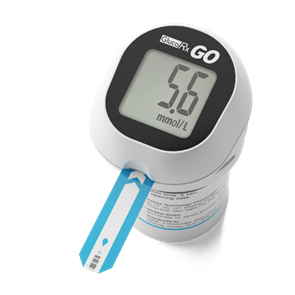 GlucoRx GO Blood Glucose Monitoring Device