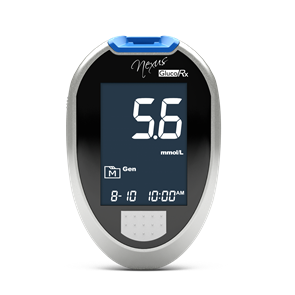 GlucoRx Nexus Blood Glucose Monitor