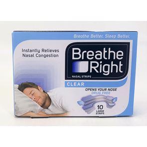 Breathe Right Nasal Strips 10