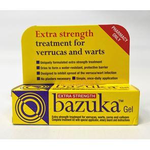 Bazuka Extra Strength (salicylic acid) 26% w/w Gel 5g