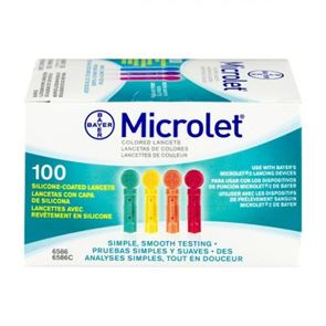 Microlet Lancets 100