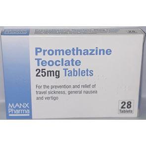 Promethazine Teoclate 25mg Tablets (28)