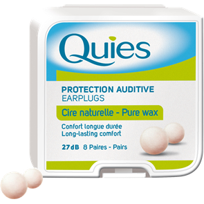 Pure Wax Earplugs 8 pairs