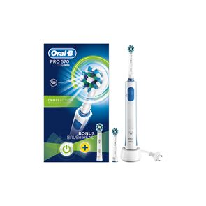 Oral B Pro 570 Cross Action 3D Rechargeable Toothbrush