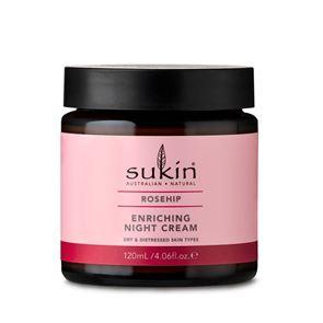 Sukin Rose Hip Enriching Night Cream 120ml