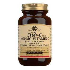 Solgar Ester-C Plus Vitamin C 1000 mg Capsules 90