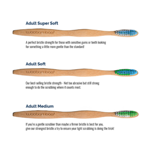 Adult Medium Bristle Toothbrush